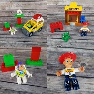 Lego Duplo Pizza Planet Jessie's Toy Story 3 Lot